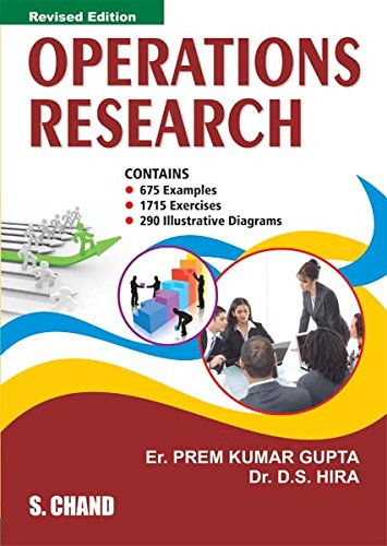 operations research book This book elucidates the basic concepts and applications of operations research written in a lucid, well-structured and easy-to-understand language, the key topics are explained with adequate depth and self-explanatory flow.