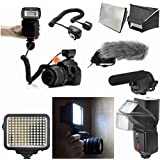 Deluxe Videography And All In One Flash Kit For Canon EOS 7D
