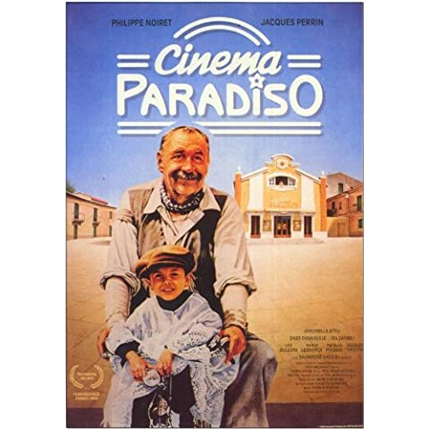 Cinema Paradiso Poster (11 x 17 Inches - 28cm x 44cm) (1988) German Style A