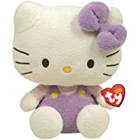 Ty Hello Kitty - Peluche mono, 15 cm, color lila 40907TY
