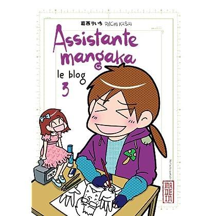 Assistante mangaka le blog, tome 3