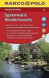 MARCO POLO Freizeitkarte Spreewald, Niederlausitz: Toeristische kaart 1:100 000
