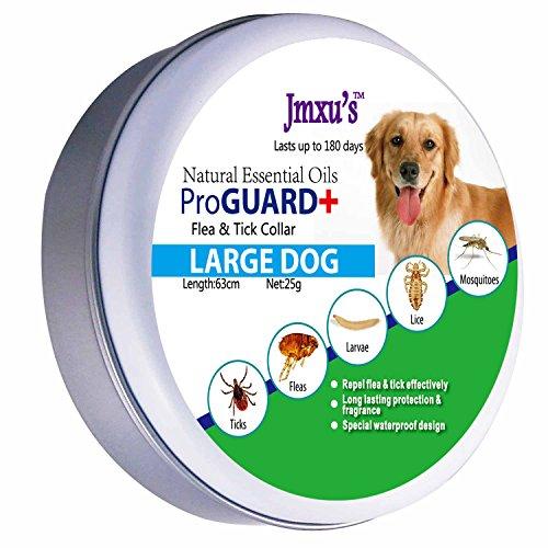 WeiLi Collar Antiparasitario para Perros contra Pulgas, Garrapatas y Mosquitos