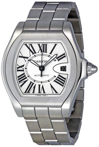 Cartier W6206017 - Reloj de pulsera hombre, acero inoxidable, color Plata
