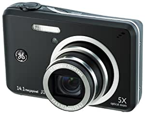 GE General Electric J1455 Digitalkamera (14 Megapixel, 5-fach opt. Zoom, 7,6 cm Display (3,0-Zoll), Auto-Panorama, Bildstabilisator, Li-Ion Akku) schwarz