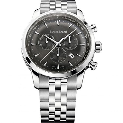 Mens Louis Erard Heritage Chronograph Watch 13900AA03.BMA38