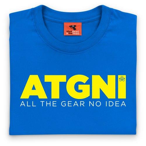 PistonHeads ATGNI T-Shirt, Damen Royalblau