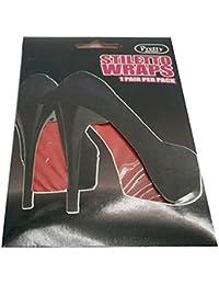 Lámina decorativa para suela zapatos de tacón Cairon en rojo