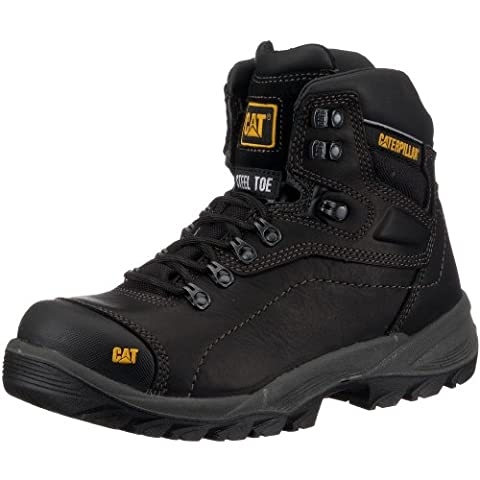 CAT Footwear Men's Diagnostic Hi S3 Safety Boots, Black, 10 UK