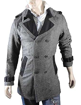 Garcia pescara yt style busines manteau en laine gris taille xL