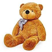 *L'orsacchiotto XXL cerca una nuova casa - L'orso coccolone come amoroso compagno per grandi e piccini!*L'enorme orso non è solo un giocattolo, piuttosto i bambini hanno bisogno del loro orsacchiotto per affrontare e superare insicurez...