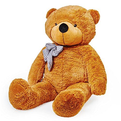 Lumaland Riesen XXL Teddybär braun 120cm Plüsch Kuschelbär