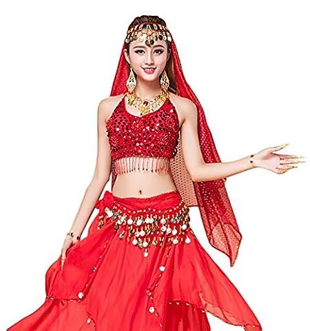 Costumes De Danse Vêtements - YiJee Danse du Ventre Costume pour Femme