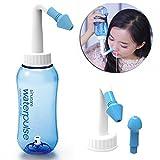 Lavado Nasal,Worsendy Limpiador Nasal,Botella de lavado nasal Yoga Nasal 300ml,Irrigación Nasal alérgica Tratamiento Para Adultos & Niños- Botella para limpieza de nariz