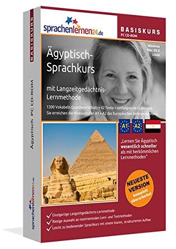 Sprachenlernen24.de Ägyptisch-Basis-Sprachkurs: PC CD-ROM für Windows/Linux/Mac OS X. Ägyptisch lernen für Anfänger.