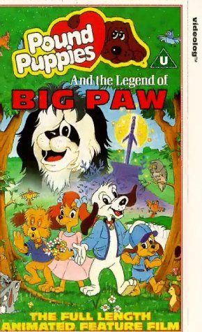 pound-puppies-the-movie-the-legend-of-big-paw-vhs-import-anglais
