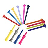 #7: Golfoy Basics Assorted Mixed Plastic Tees (100 Count)