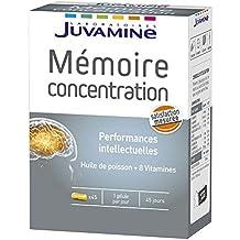 juvamine memoria concentration 45 Cápsulas