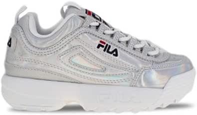 Fila Disruptor M Kids Sneaker Bambino 1010779 3VW Silver (Numeric_38)