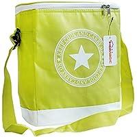 Bolsa nevera para picnic, de IHOMAGIC, aislante, para viajes y comidas, diseño unisex, verde