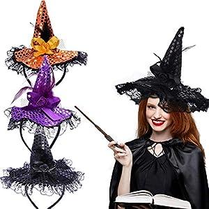 BESTYY Diademas de Halloween,BESTZY 3