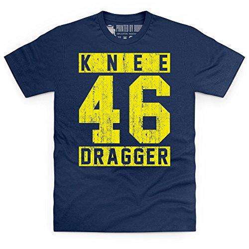 Knee Dragger 46 T-Shirt, Herren Dunkelblau
