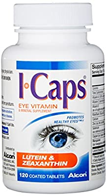 Icaps Lutein & Zeaxanthin Tablets - 120 ea by Icaps