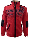 CAMP DAVID JACKE COASTGUARD ROYAL RED L