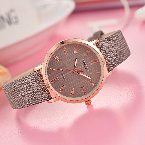 rz mit Armband Damen Uhren Grau ()