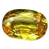 Yellow sapphire stone 3 carat (SCRJ069)