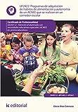 Programas de adquisición de hábitos de alimentación y autonomía de un ACNEE que se realizan en un comedor escolar. SSCE0112