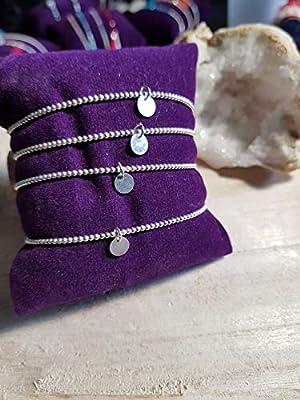 """Bracelet""""Minimaliste"""" Médaille ARGENT 925"""