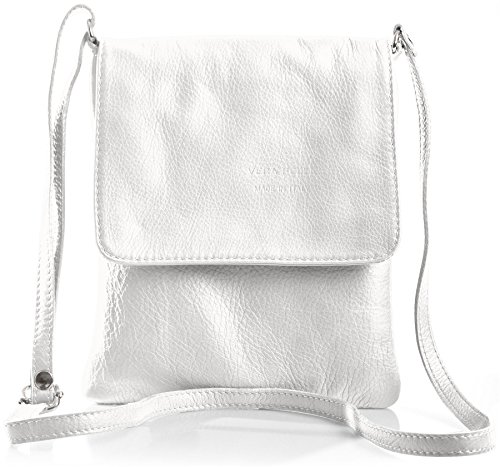 Big Handbag Shop - Borsa a tracolla donna Bianco (bianco)