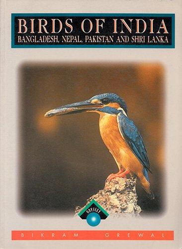 Illustrated Guide to Birds of India (Odyssey Guides) por Bikram Grewal