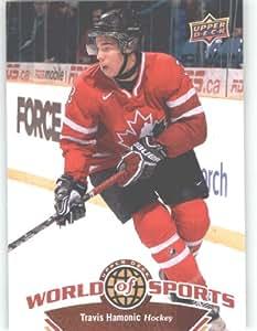 2010 Upper Deck World of Sports Trading Card # 197 Travis Hamonic / Hockey Cards / Team Canada