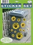 My Home Mülltonnen-Sticker 'Sonnenblumen'