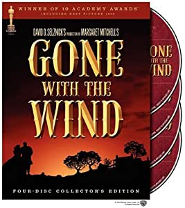 Gone With the Wind [DVD] [1940] [Region 1] [US Import] [NTSC]