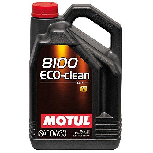 Motul 102889Moteur 8100Eco Clean 0W-30, 5l pas cher