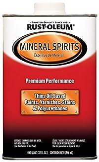 Rust-Oleum Automotive 253351 32-Ounce Low Voc Mineral Spirits Quart - 4 Pack