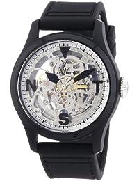 ToyWatch Damen-Armbanduhr Analog Automatik Silikon TTFS13BKSL