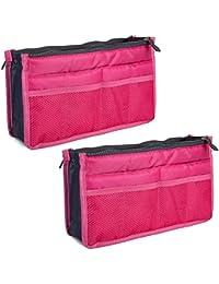 Magik 2 Pack Travel Insert Handbag Purse Large Liner Organizer Tidy Bags