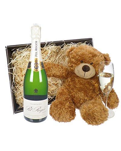 pol-roger-champagne-and-bear-gift-basket