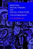 Emotion, Social Theory & Structure: A Macrosociological Approach