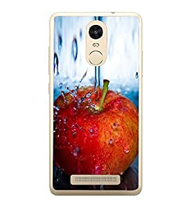 PrintVisa An Apple A Day Keeps Doc Away High Gloss Designer Back Case Cover for Xiaomi Redmi Note 3 :: Xiaomi Redmi Note 3 Pro :: Xiaomi Redmi Note 3 MediaTek