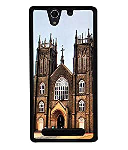 PrintVisa Designer Back Case Cover for Sony Xperia C3 Dual :: Sony Xperia C3 Dual D2502 (Unique Design Of Famous Church)
