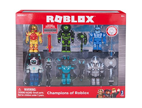 ROBLOX - Champions of ROBLOX playset with exclusive virtual item