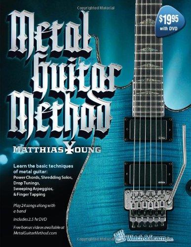 Metal Guitar Method Book