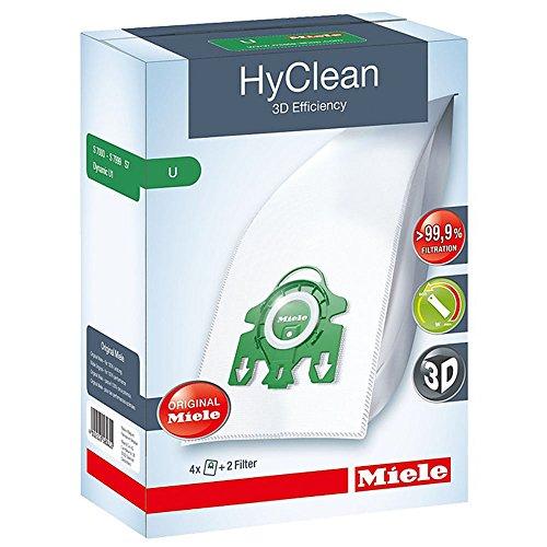 1U Typ 3D HyClean Staubsaugerbeutel & Filter Kit (4Stück) ()