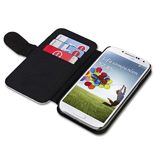 Book Style Flip Handy Tasche Case Schutz Hülle Schale Motiv Etui für Apple iPhone 4 / 4S - A49 Design8 Design 12