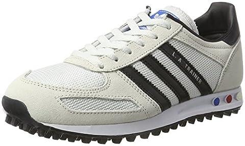adidas Boys' La Bass Trainers, Beige (Vintage White/core Black/clear Brown), 3.5 UK
